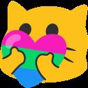:QueerCatHeart_Polysexual: